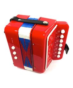 Love this Red Accordion Musical Toy on #zulily! #zulilyfinds