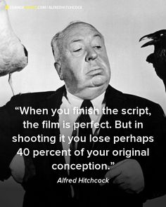 Alfred Hitchcock #Quote