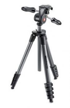 Manfrotto Compact Advanced trípode completo (con rotula 3 Way) por 59 €  Soporta una cámara DSLR compacta con zoom estándar, para que podamos llevar nuestra afición fotográfica a un nivel superior   #Fotografía #informatica #vintage #primeday