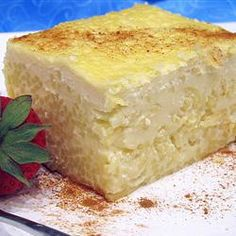Pasta, Pastia, This Slow-Baked Creamy Egg Pudding Is Made With Ricotta And Pasta, And Flavored With Anise And Vanilla. Old Italian Recipes, Italian Desserts, Italian Dishes, Just Desserts, Italian Cookies, Italian Cake, Sicilian Recipes, French Recipes, Baking Desserts