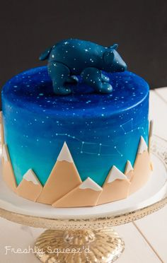 Ursa Major Cake by Letterpress Bakery