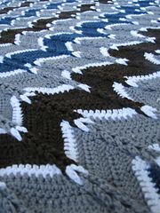 Ravelry: Jacob's Ladder Ripple Afghan pattern by Heather Tucker