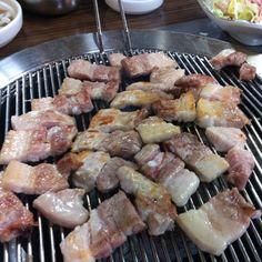 Korean Grilled pork belly