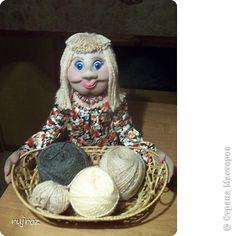 Мастер-класс Шитьё Мастер класс куклы корзинщицы Капрон фото 1