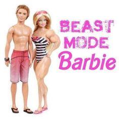 """Ken & """"Beastly"""" Barbie"""