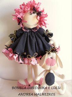 para as amigas artesãs que gostam de bonecas