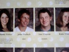 14 More of the Greatest Yearbook Moments of All Time (Volume 4) Senior Yearbook Quotes, Yearbook Pictures, Funny Yearbook, Funny Pictures, Funny Pics, Yearbook Ideas, Friend Pictures, Senior Pictures, Funny Images
