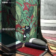 Bazı renkler bir araya gelince yeni hikayeler başlatırlar ve siz bu hikaye içinde büyülenmiş gibi kalırsınız. Degrape'nin birbirinden farklı koleksiyonları ile tanışmaya ne dersiniz? www.degrape.com #degrape #degrapedepo #kumaş #perde #döşemelikkumaş #izmir #istanbul #home #sweethome #design #decoration