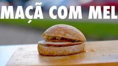 Sanduba de maçã com mel!! São Joaquim - SC