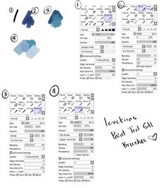Hi guys, someone asked me what brushes I use, so I thought I'd share it publicly! I use Paint Tool SAI for both sketching and painting (PS for only color touch-ups at the end), so here's my four trusty SAI brushes! I only use these four, so hope it's...
