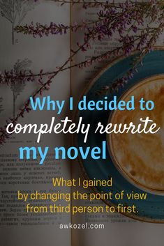 Tips to help you decide what POV is right for your story! Learn why I ended up changing my novel to first person POV. Book Writing Tips, Writing Resources, Blog Writing, Writing Skills, Creative Writing, Writing Prompts, Writing Ideas, Fiction Writing, Point Of View