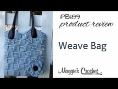 Basket Weave Bag Product Review - PB189 - http://www.knittingstory.eu/basket-weave-bag-product-review-pb189/