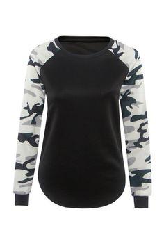 T Shirt Women 2016 Ladies Women's Camouflage Army Long Sleeve Tops T-Shirts Autumn Casual Women TShirt Camisetas Feminina