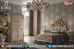 Jual Kamar Set Mewah Anak Ukiran Luxury Classic Best Seller Jepara MMJ-0810