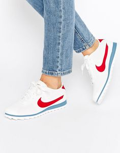 new product 75a19 25080 Image 1 of Nike Cortez Ultra Moire Trainers In Perforated Varsity Red And…  Red High