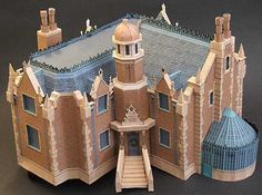 Haunted Mansion Disney France There are several great buildings over at Haunted Dimensions (link to right) based around attractions at D...