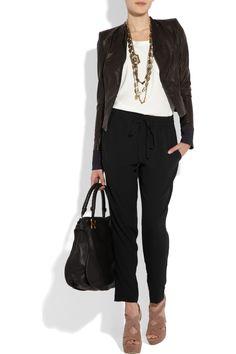 Да! Для бизнес-случайный / вскользь смарт офиса в весна / лето: курточку / блейзер, укороченные брюки, и платформ.