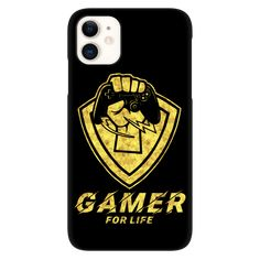 Gamer for Life iPhone Case Awesome Epic Unique Gift for Gamers and Gaming Lovers / Video Games #iphone #giftshop #gaming #iphonecases #gaminggifts #gamers Unique Iphone Cases, Gamer Gifts, Video Games, Tank Man, Unique Gifts, Long Sleeve Tees, Gaming, Lovers, Art Prints