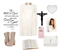 """Will & Grace of God RTD"" by lifeissweet170000 ❤ liked on Polyvore featuring WALL, Gucci, Valentino, UGG, Yves Saint Laurent, Aspinal of London and Casetify"
