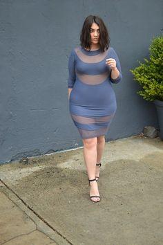Mode Rondes - Plus size Fashion Nadia Aboulhosn