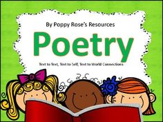 Poetry - Making Connections Through Poetry - Writing Prompts Writing Prompts Poetry, Writing Area, Text To Text Connections, Making Connections, Text To Self Connection, Text To World, Poetry Text, Poetry Month, Poem A Day
