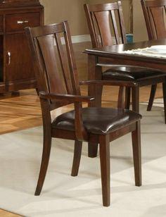 alpine furniture bradbury 63723a dining arm chair by alpine furniture