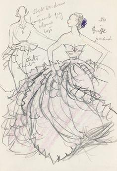 Francis Marshall sketch from V prints.