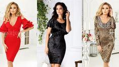 Rochii Romania is under construction Lei, Nice Dresses, Bodycon Dress, Fashion, Moda, Cute Dresses, Body Con, Beautiful Gowns, Fashion Styles