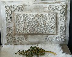 Rubberen deurmat bewerkt op houten lijst
