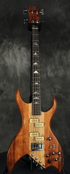 BC Rich Bich 8- String Bass 1981 Natural | Reverb