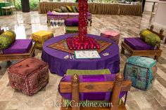Sangeet henna party decorations. Indian party decorations Henna lounge area for Sangeet - Decor by JDV Events Henna by Kelly Caroline Henna Art. Henna booth set up