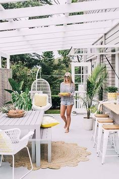 Creating a perfect Outdoor Living Space - lovefrommim.com Garden Outdoor Furniture Family Garden Furniture Outdoor Bar