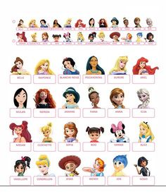 Who to print Disney Disney Princesses 'and' Video video games '/ Guess who printables Games For Kids, Diy For Kids, Activities For Kids, Disney Games, Disney Diy, Imprimibles Baby Shower, Princess Games, English Games, Disney Printables