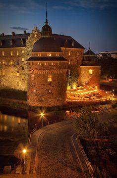 Örebro Slott | Sweden | Photo By Martin Isaksson  My favorite place to sing Christmas carols.