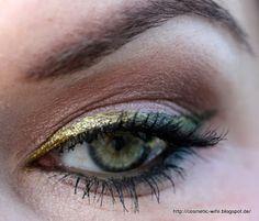 ... noch ein Make up Blog ...: MoP #6 - Ombre Liner mit Fyrinnae