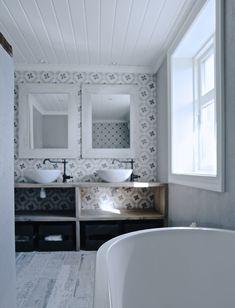 Mias Interiør / New Room Interior: Badet vårt...