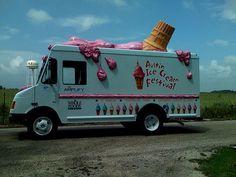 Austin Ice Cream Festival Van