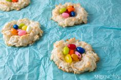 How to make your own Easter treats: Homemade coconut nests