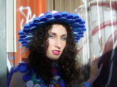 chapeaux en bouchons plastiques | La Robe Bouchons - Le blog de Marion Buttelli
