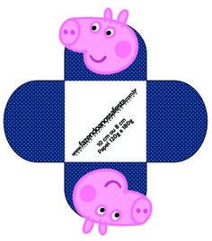 Forminhas Docinhos George Pig: