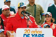 Yahoo Venezuela   Denuncian a Maduro por presuntos crímenes de lesa humanidad en La Haya; Parlamentarios de partidos de derecha latino americanos pidieron el lunes a la Corte Penal Internacional que investigue al presidente de Venezuela, Nicolás Maduro, y a funcionarios de su gobierno por presuntos crímenes de lesa humanidad, se informó en Buenos Aires. AFP
