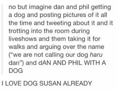 They had better name it dog Susan <--- If they didn't name it dog susan i would be extremely disappointed