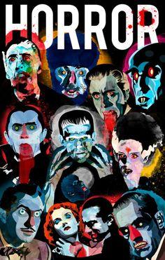 Shock! Horror!   Horror Movie Icons