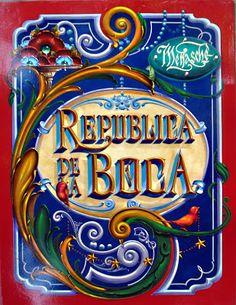 FILETE PORTEÑO DE MENASCHÉ. BIENVENIDOS A MI BLOG: FILETEADO Decoupage, Vintage Typography, Arte Popular, Hand Painted Signs, Retro, Folk Art, Free Printables, Doodles, Tapestry