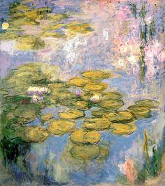 bofransson:    Nympheas, 1916-19 - Claude Monet