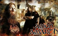 Amon Amarth.  Exceptional Swedish Death Metal.  (Sweden)