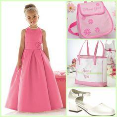 Make your flowergirl feel like a Princess!  www.modelbride.com