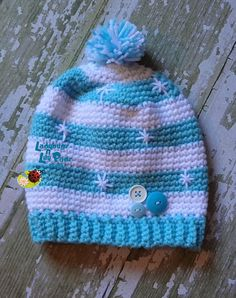 Cute winter hat! At Get Pinned, 210 N. Main, Mitchell, SD https://www.facebook.com/ladybugs.n.lily.pads.boutique?fref=photo