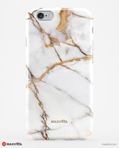 iPhone 6 Case – MDTTA-3D1032 – White Onyx Marble Phone Case