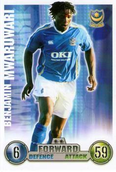 2007-08 Topps Premier League Match Attax #237 Benjamin Mwaruwari Front